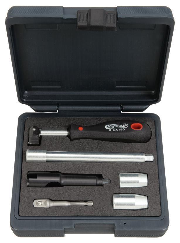 155mm KS Tools 116.2096 Standarmaturenschl/üssel 13mm