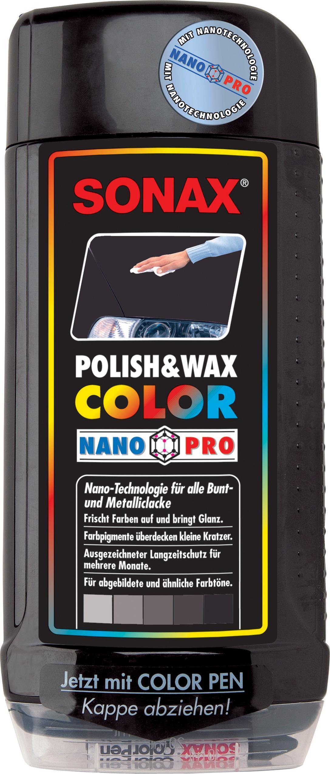 sonax polish wax color nano pro schwarz 500ml autoteile walter schork gmbh. Black Bedroom Furniture Sets. Home Design Ideas
