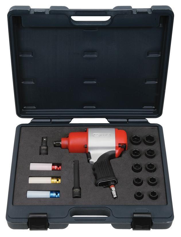 ks tools 1 2 39 39 druckluft schlagschrauber satz 810nm 17. Black Bedroom Furniture Sets. Home Design Ideas