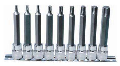 "M5-M14 KS Tools 1//2/"" CHROMEplus RIBE-Bit-Stecknuss-Satz 9-tlg lang"