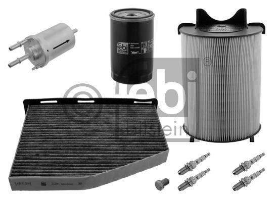 febi wartungspaket volkswagen gruppe benziner a3 leon golf. Black Bedroom Furniture Sets. Home Design Ideas