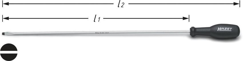 1.5-10mm Innensechskantschl/üssel Satz in kompaktem Halter extra lang MAXPOWER 9-teiliger Stiftschl/üsselsatz Chrom Vanadium Stahl metrisch
