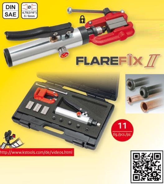 ks tools flarefix ii universal b rdelger t satz 11 tlg. Black Bedroom Furniture Sets. Home Design Ideas