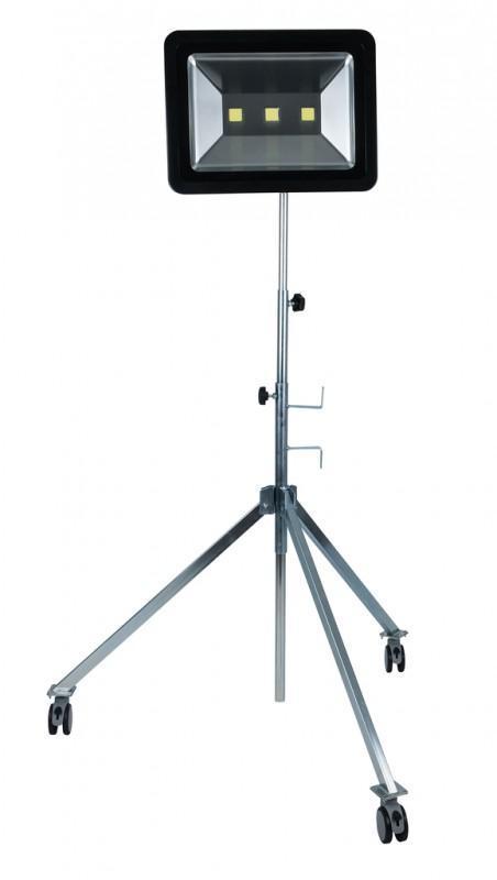 ks tools teleskop stativ mit profi led arbeitslampe 150w. Black Bedroom Furniture Sets. Home Design Ideas