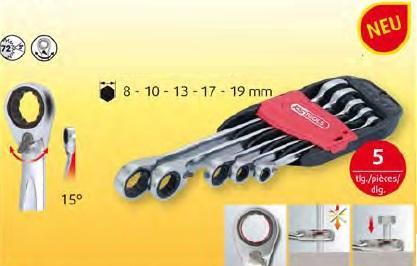 ks tools gear ringstop ringmaulschl ssel umschaltbar 5. Black Bedroom Furniture Sets. Home Design Ideas