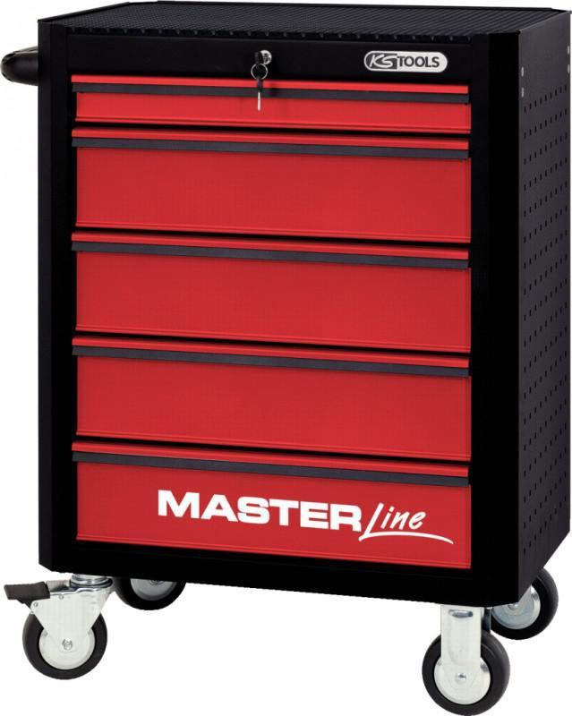 ks tools masterline werkstattwagen mit 5 schubladen. Black Bedroom Furniture Sets. Home Design Ideas