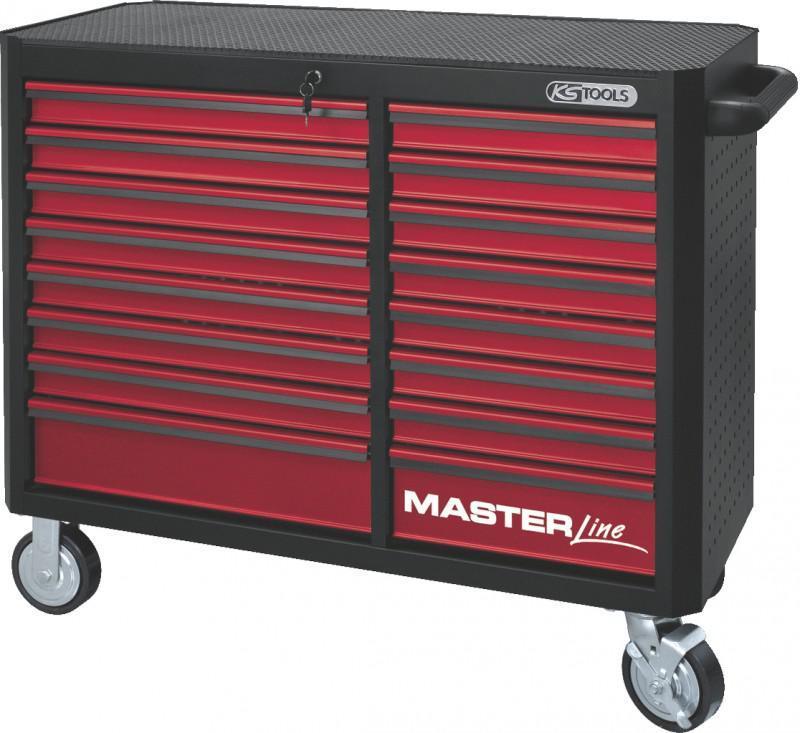 ks tools masterline xxl werkstattwagen 16 schubladen schwarz rot autoteile walter schork gmbh. Black Bedroom Furniture Sets. Home Design Ideas