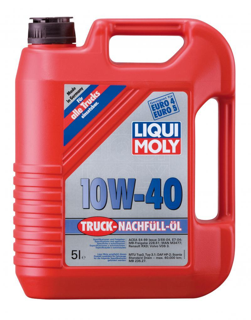 liqui moly truck nachf ll l 10w 40 5l leichtlauf. Black Bedroom Furniture Sets. Home Design Ideas