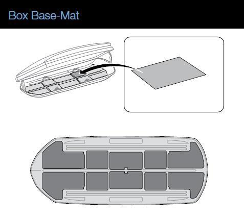 thule bodenschutzmatte 6128 f r dachbox dynamic 800 autoteile walter schork gmbh. Black Bedroom Furniture Sets. Home Design Ideas