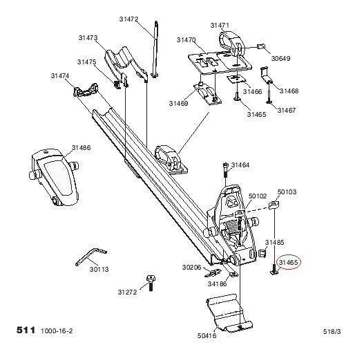 thule schraube kurz m6x26 f r system 599 autoteile walter schork gmbh. Black Bedroom Furniture Sets. Home Design Ideas