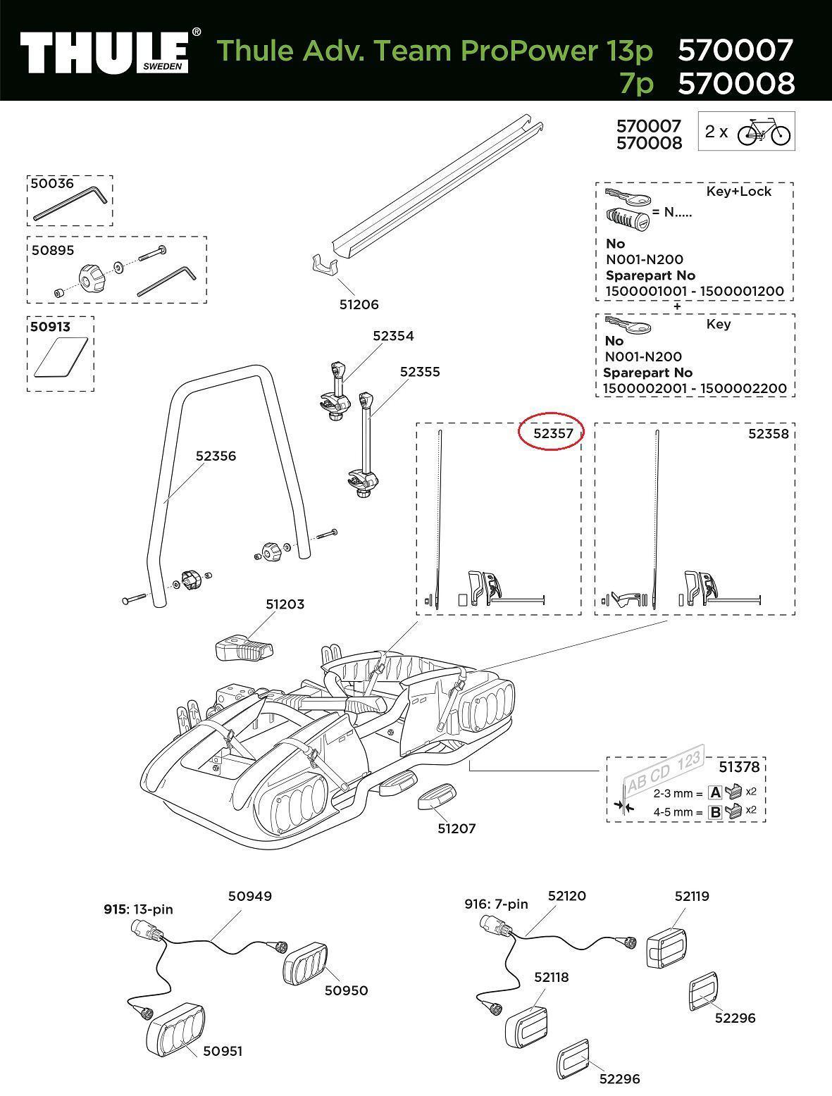 thule halteband anbauteil m schnalle 570007 smu f r. Black Bedroom Furniture Sets. Home Design Ideas