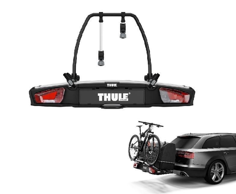 thule hecktr ger velospace xt f r 2 fahrr der e bikes. Black Bedroom Furniture Sets. Home Design Ideas