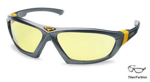 UVEX Schutzbrille cybric farblos
