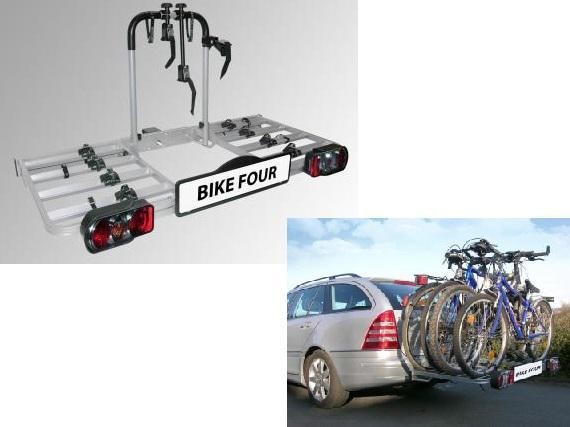 eufab heck fahrradtr ger bike four 4 fahrr der autoteile. Black Bedroom Furniture Sets. Home Design Ideas
