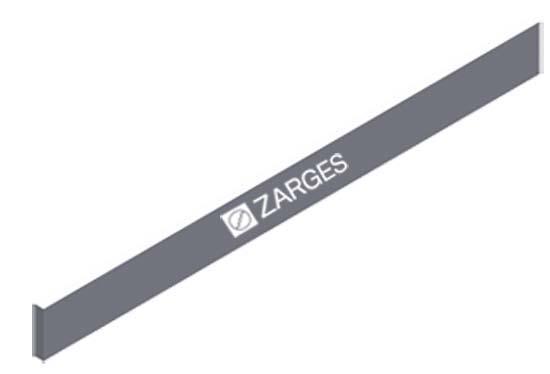 ZARGES Horizontalstrebe für 1,80 m Länge