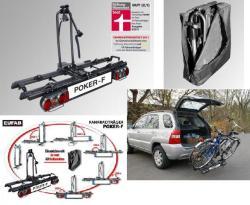 eufab fahrradtr ger poker f 2 fahrr der faltbar m tasche. Black Bedroom Furniture Sets. Home Design Ideas