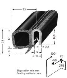 happich dichtungsprofil 5mm pvc schwarz mit moosgummidichtung epdm autoteile walter schork gmbh. Black Bedroom Furniture Sets. Home Design Ideas