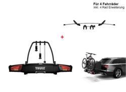 Thule Heckträger VeloSpace XT 4 Fahrräder/E-Bikes mit Erweiterung ...