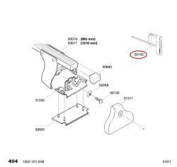 thule schl ssel 6 kant montagewerkzeug f r fusssatz autoteile walter schork gmbh. Black Bedroom Furniture Sets. Home Design Ideas