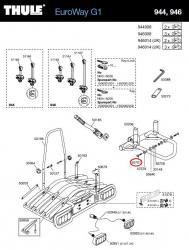 thule schraube 944 f r 944 946 euroway fahrradhecktr ger. Black Bedroom Furniture Sets. Home Design Ideas