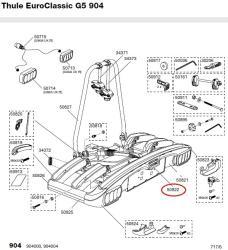 thule griff abklappmechanismus 904 928 929 f. Black Bedroom Furniture Sets. Home Design Ideas