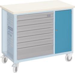hazet t r blau abschlie bar f r werkbank 177w autoteile walter schork gmbh. Black Bedroom Furniture Sets. Home Design Ideas