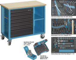 hazet werkbank mit 169tlg profi werkzeug sortiment. Black Bedroom Furniture Sets. Home Design Ideas